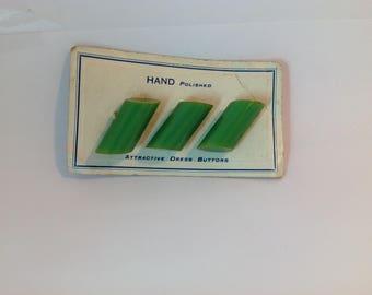 Bakelite Buttons, original package