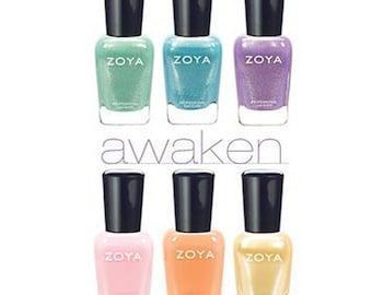 ZOYA Nail Polish Awaken Collection 2014