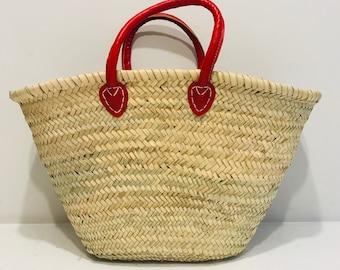 Red Handle Basket