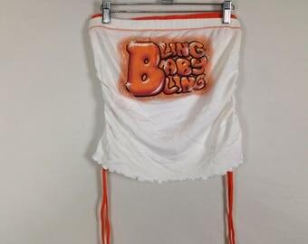Blingbabybling airbrush tube top