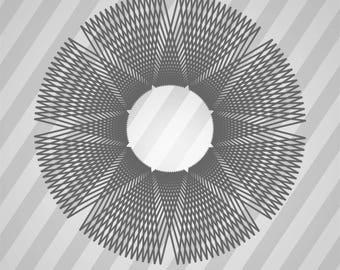 angolo aureo 03 - Svg Dxf Eps Silhouette Rld RDWorks Pdf Png AI Files Digital Cut Vector File Svg File Cricut Laser Cut