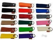 Schlüsselanhänger Anhänger für Schlüssel, Band aus Filz, Filzband, Schlüsselband / Geschenk für Ihn, Sie / Filzanhänger Autoschlüssel