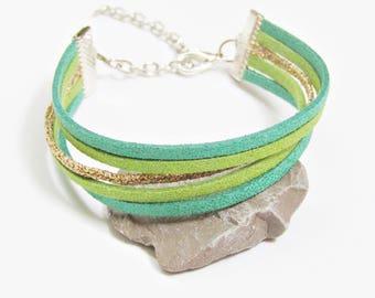 Amaryllis fancy Bohemian chic bracelet