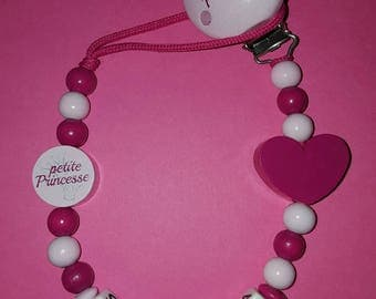 "Personalized ""little Princess"" pacifier"