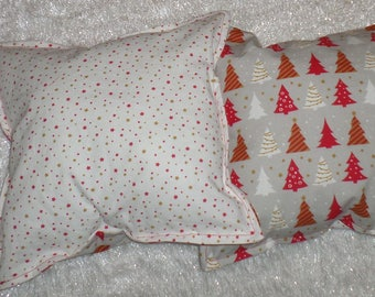 Pillow decorative Christmas tree decorations / star