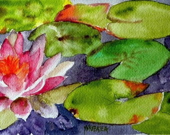 the radiant Lily watercolor