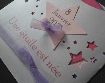birth announcements or baptism star