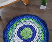 Hand made crochet round r...