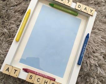 First Day at School Frame - Memory Frame - Keepsake Frame