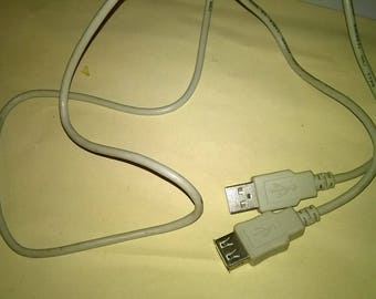 222) male female USB cable