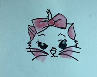 The AristoCats Marie bookmarks