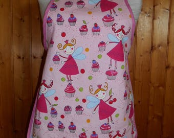 Cotton apron child - gourmet fairy