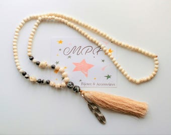 Long necklace style Bohemian