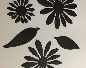 Flowers for scrapbooking die cut