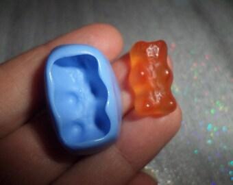 Mold candy bear 2cm / 1 cm for molding polymer clay