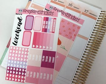Be Mine Mini Kit for the Erin Condren Life Planner, Happy Planner and More!