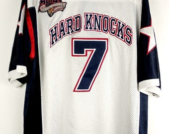 Vintage 90s School of Hard Knocks Hip Hop Top Jersey Style