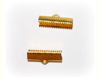 Golden claw 20 x 8 mm (x 2) end caps