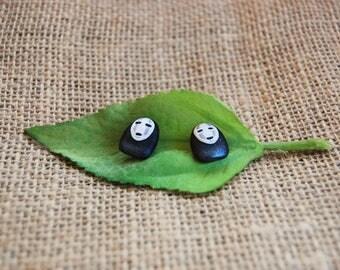 Faceless earrings spirited away