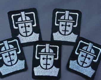Cyberman Logo Sew On Patch