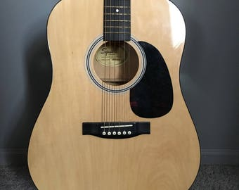 Acoustic guitar made by Fender