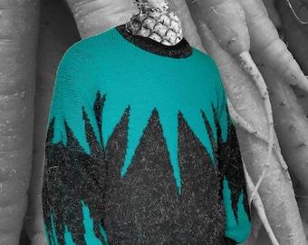 Vintage 70's geometric pattern sweater