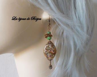 Mid - Rustic elegant earrings