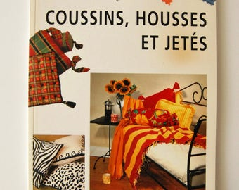 Book decorative ideas for pillows, covers and throws, plaid HEATHER LUKE