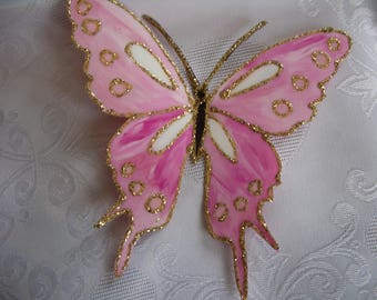 Riviera-pearl Butterfly home decor