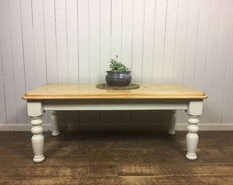 SOLD - Rustic Farmhouse Coffee Table