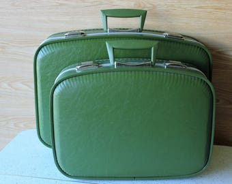 Vintage Suitcases   Etsy