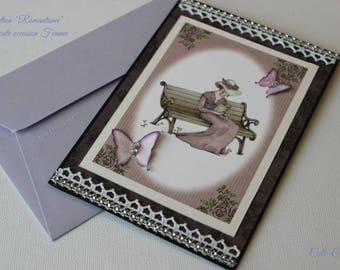 Romantic card any occasion
