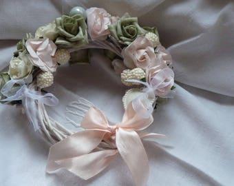 Small 20 cm wedding wreath