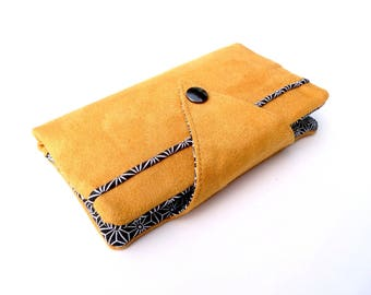 Available - Companion - black & mustard yellow wallet