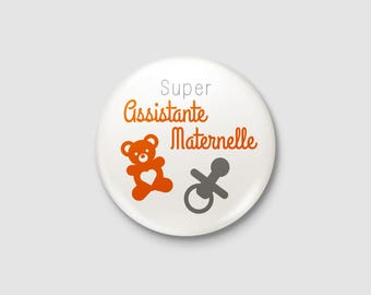 "Craft - ""Great nursery assistant"" badge"