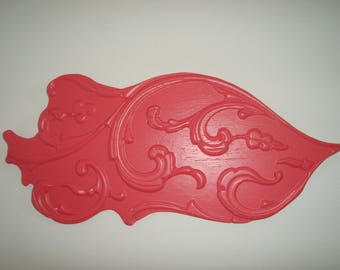 decorative wall carp exotic pink