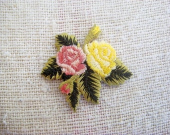 Bouquet flower embroidery