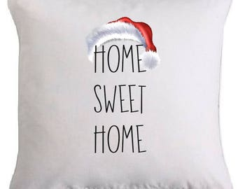 """Cushion edition Christmas special """"HOME SWEET HOME"""""""