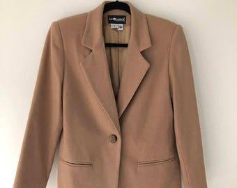 ON SALE Vintage Wool Sag Harbor Petite Blazer