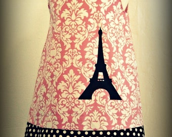 Dress Miss PANAM eiffel tower from 2 to 10 years