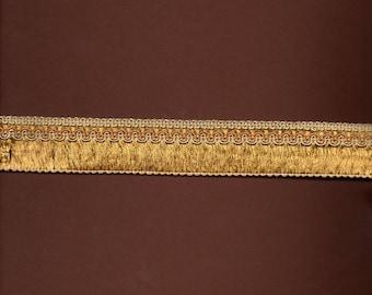 Viscose-cotton 3cm wide gold braid