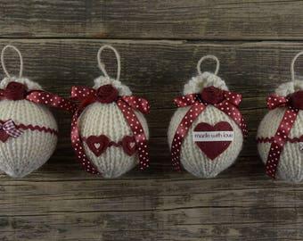 Romantic Christmas balls Style