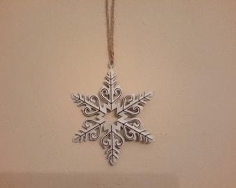 Christmas snowflake metal