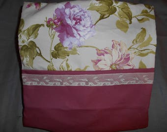 Old pink and pink Cushion cover English