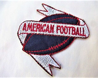 american football 9047.3 applique patch badge for customization sewing craft or sewing vintage