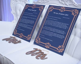 Yoruba Engagemnt Proposal and Acceptance Letters (digital download)