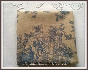 Coupon fabrics of Mas D'ousvan Princess chambray blue