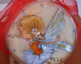 ball acrylic 12cm feeriqaue decoration, deco room girl, baby room decoration, birthday girl