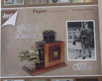 Block Magic Lantern - Old Photos and mural - 8 x 4 sheets