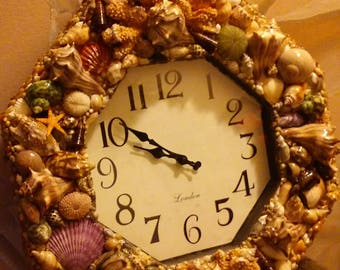 Sea Shell Clock